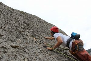 Beginners course rock climbing
