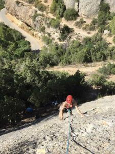 Climbing Beginners course Margalef