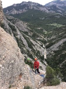 Multipitch guided routes