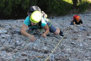 Multipitch rock climbing Barcelona