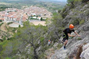 Guided via ferrata