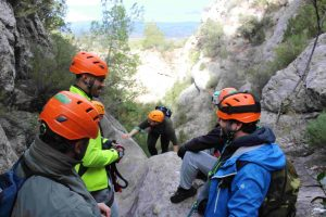 Via ferrata groups